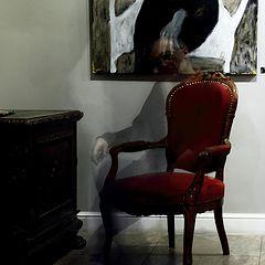 """фото """"красное кресло"""""""