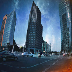 "фото ""Berlin. Potsdamer Platz."""