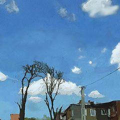 "фото ""5я Линия. Высокое небо"""