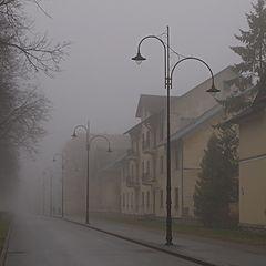 "фото ""история туманного утра"""