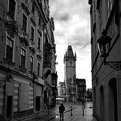 "photo ""Башня, улица и фигура-2"""
