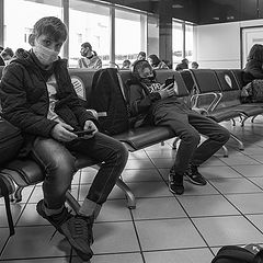 "photo ""Аэропорт. Посадка."""