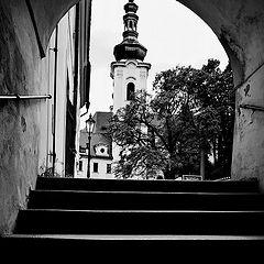 """photo """"Башня и лестница"""""""