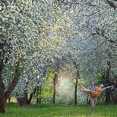 """фото """"Когда сады цветут..."""""""