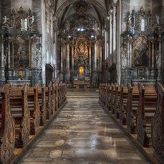 """фото """"В церкви  святого Франциска"""""""