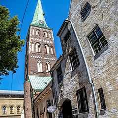 """photo """"In the Old City of Riga"""""""