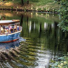 "photo ""Boat Trip along the Riga Canal"""