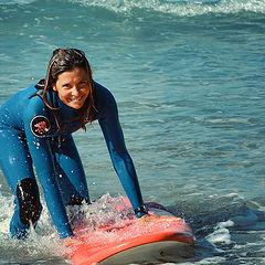 """photo """"Surfer girl"""""""
