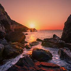 """photo """"Irish Coast - The North"""""""