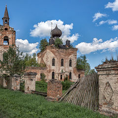 """фото """"Церковь Покрова Пресвятой Богородицы в Веретее"""""""