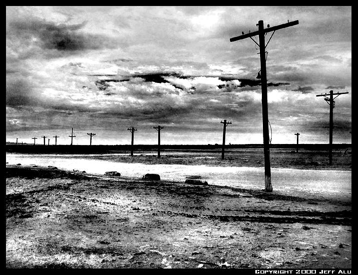 """фото """"Poles"""" метки: пейзаж, черно-белые,"""