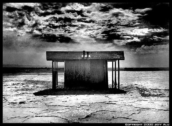 "фото ""Shack 2"" метки: пейзаж, черно-белые,"