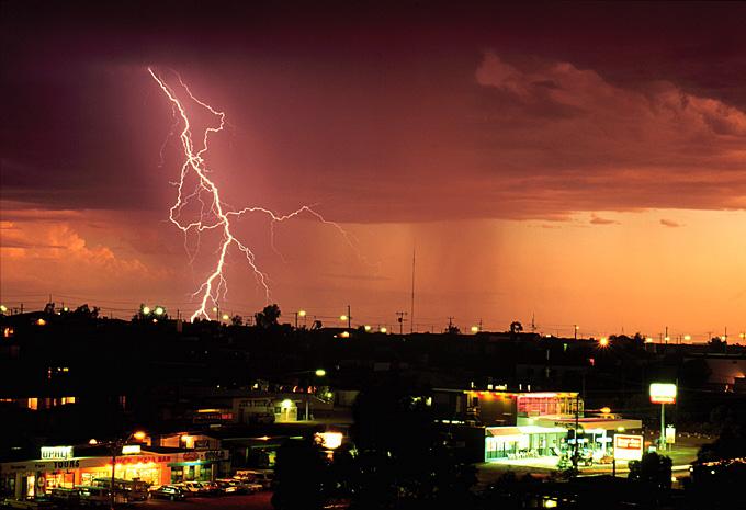 "фото ""Desert Lightning"" метки: путешествия, Австралия, молнии"