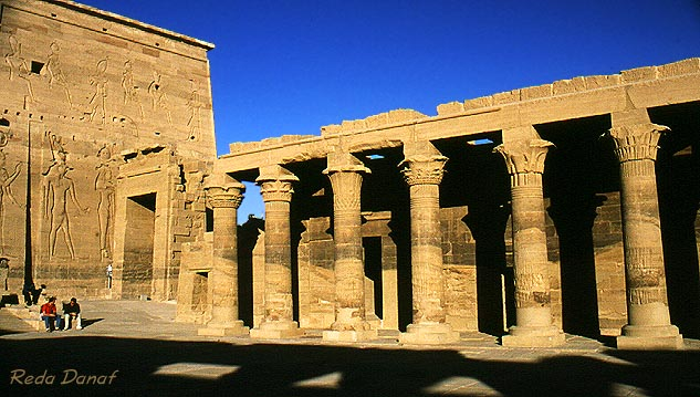 """photo """"Isis Temple #1"""" tags: travel, architecture, landscape, Africa"""