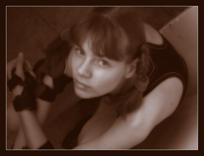 "фото ""Нимфетка."" метки: портрет, женщина"