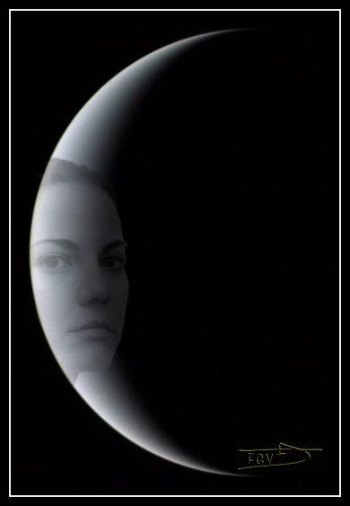 """photo """"Luna"""" tags: portrait, montage, woman"""