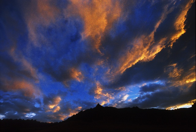 """фото """"Lines Of Light"""" метки: пейзаж, закат, облака"""