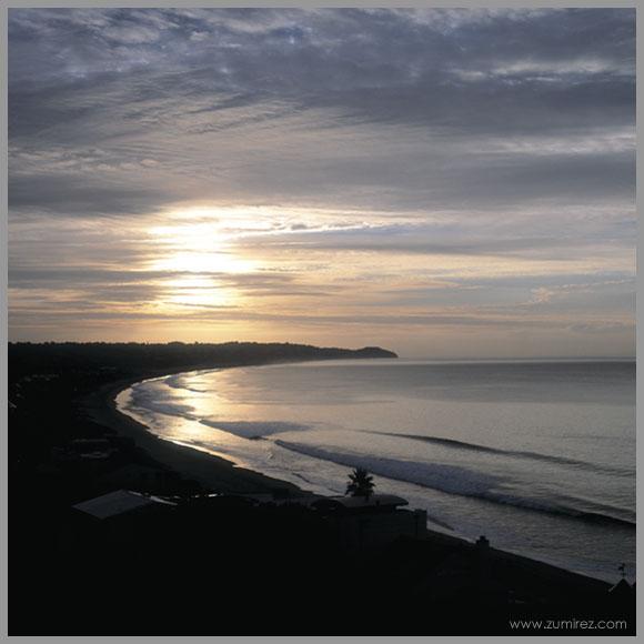 "photo ""Zuma Bay Sunise"" tags: landscape, sunset"