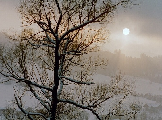"photo ""winter sun"" tags: landscape, travel, Europe, winter"