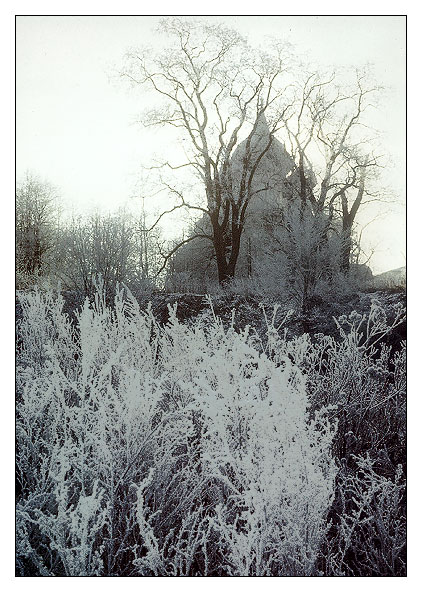 "photo ""Frosty day in Suzdal #2"" tags: landscape, travel, winter"
