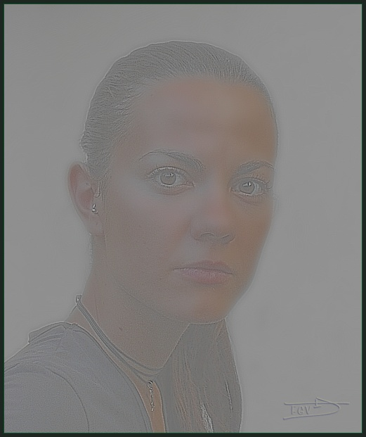 "photo ""Isa"" tags: montage, portrait, woman"