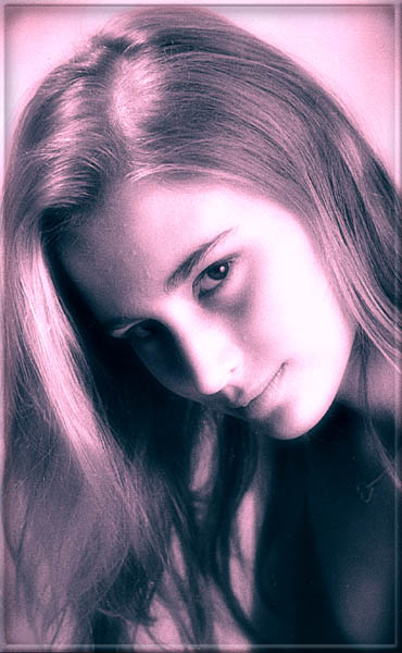 "photo ""Artful, gentle, uncertain"" tags: portrait, genre, woman"