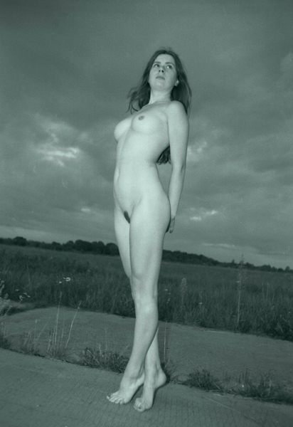 "photo ""On the concrete"" tags: nude,"