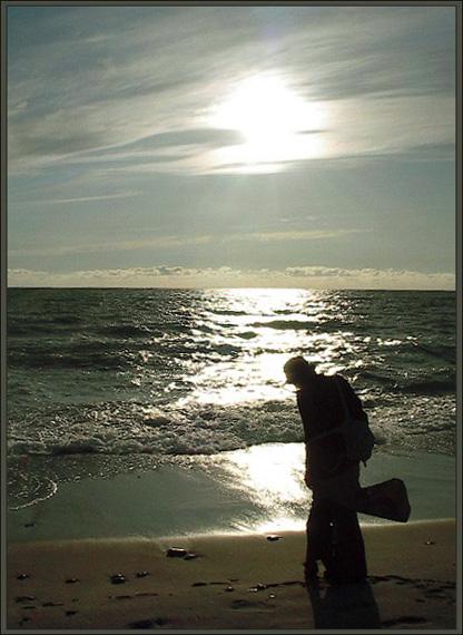 """фото """"A day without snow..."""" метки: пейзаж, разное, закат"""