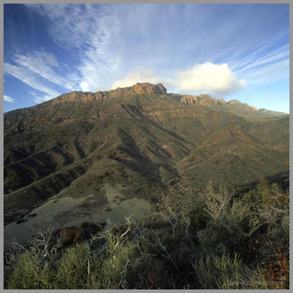 """фото """"Boney Ridge"""" метки: пейзаж, горы"""