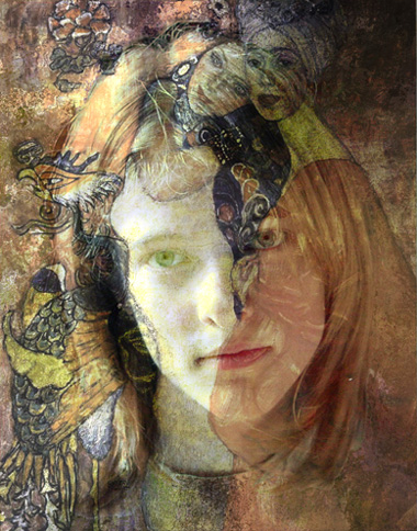"photo ""Dream of Klimt"" tags: misc., montage,"