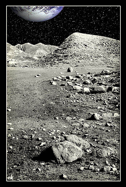 "photo ""Moonscape"" tags: landscape, montage,"