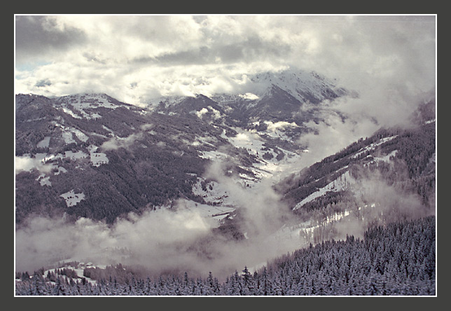 "photo ""The Alpine sketches 8"" tags: landscape, mountains, winter"