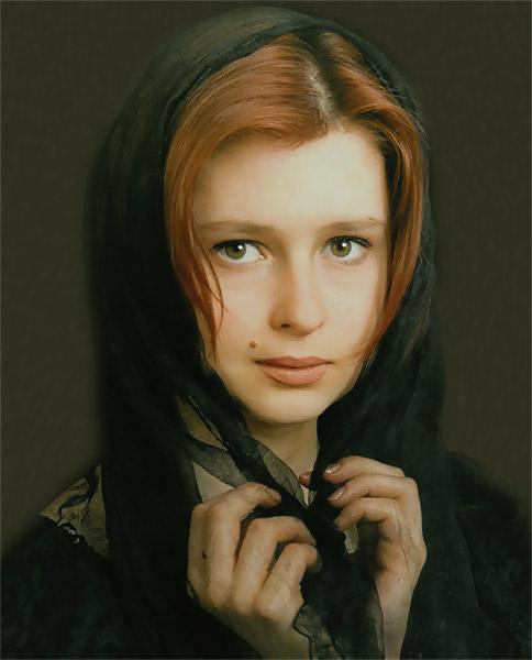 """фото """"Ноктюрн (вариант)"""" метки: портрет, женщина"""