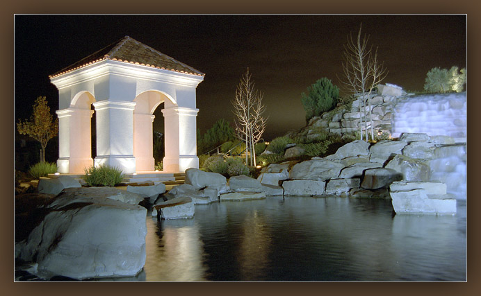"photo ""Night... December"" tags: landscape, architecture, night"