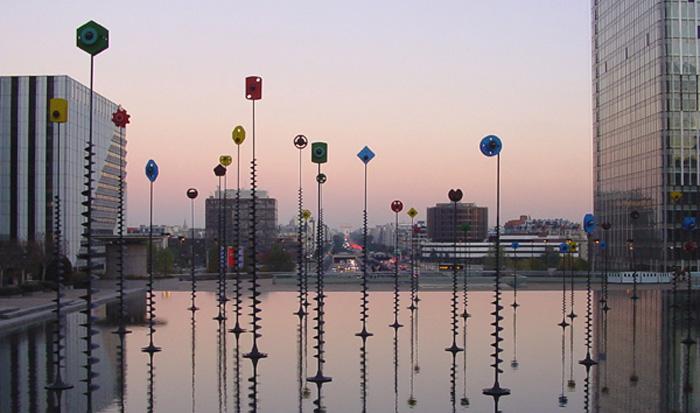 """photo """"Evening Paris"""" tags: travel, architecture, landscape, Europe"""