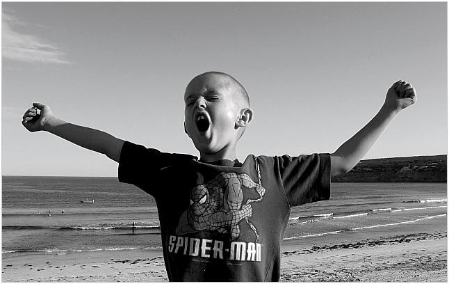 """фото """"King of the Castle"""" метки: портрет, путешествия, Австралия, дети"""