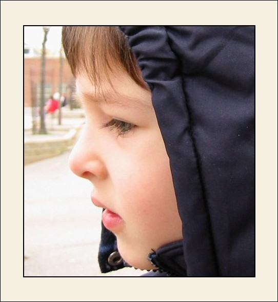 "photo ""Thinking #2"" tags: portrait, children"