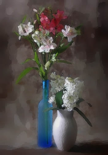 """photo """"Still Life with  flowers"""" tags: still life, nature, flowers"""