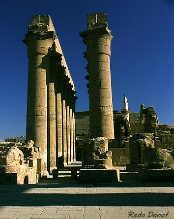 "photo ""Luxor Temple"" tags: travel, architecture, landscape, Africa"