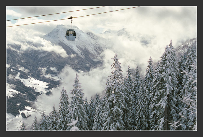 "photo ""Above clouds (the Alpine sketches 9)"" tags: landscape, travel, Europe, mountains"