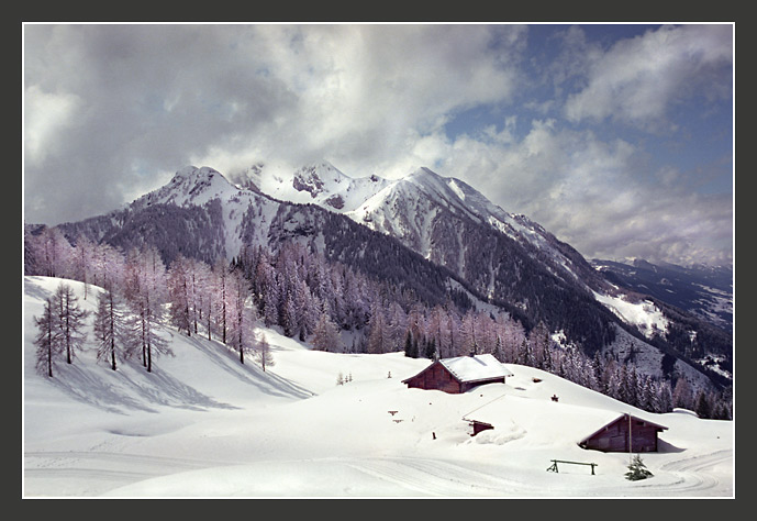 "photo ""The Alpine sketches 10"" tags: landscape, mountains, winter"