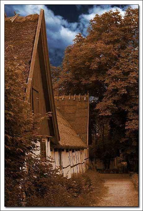"фото ""An Old Danish House"" метки: архитектура, разное, пейзаж,"