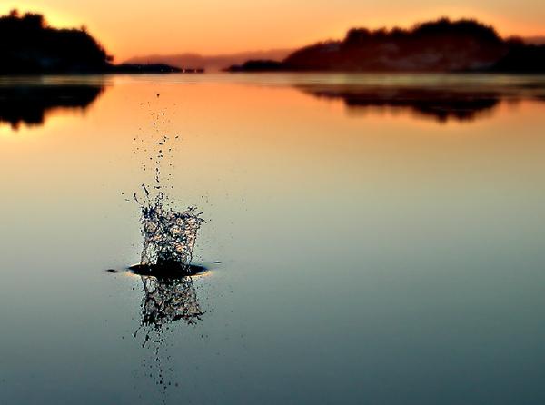 "фото ""Breaking the silence..New Version!"" метки: пейзаж, вода, зима"