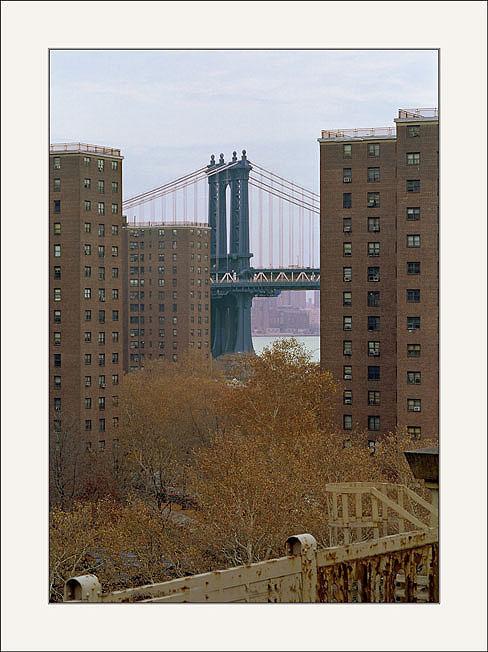 "фото ""New York -Manhattan Bridge(Фрагмент 1)."" метки: архитектура, пейзаж,"
