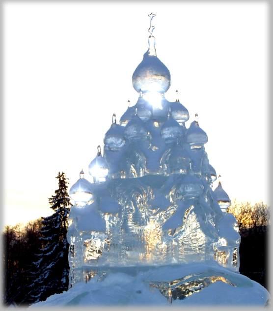 """фото """"Храм (ни что не вечно...)"""" метки: жанр, пейзаж, зима"""