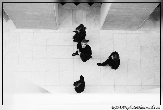 """photo """"The four."""" tags: genre, portrait,"""