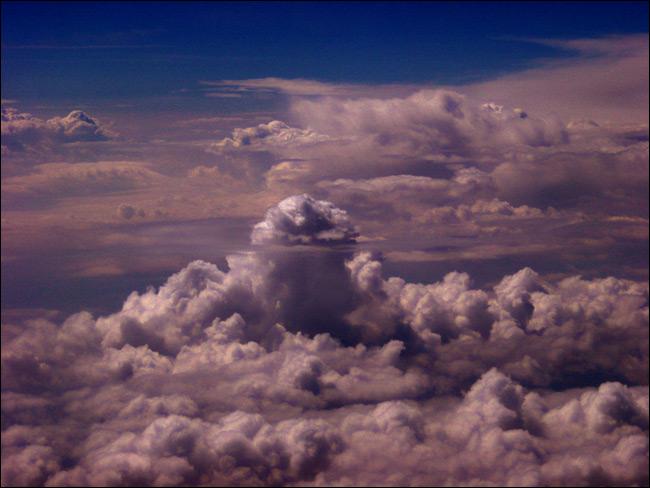 """фото """"Небесное озеро"""" метки: пейзаж, облака"""