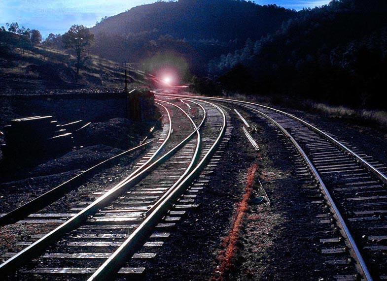 "photo """"Here Comes The Train!"""" tags: travel, genre, North America"