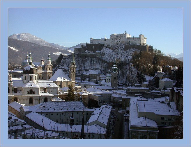 "photo ""Welcome To Salzburg"" tags: architecture, landscape, winter"