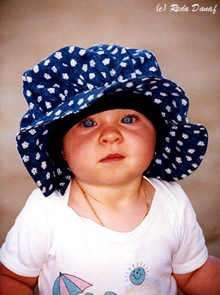 "photo ""Blue Eyes"" tags: portrait, children"